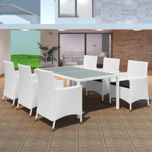 7x Outdoor Dining Set