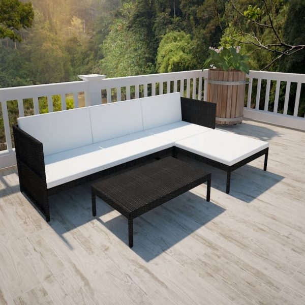 3x Outdoor Lounge